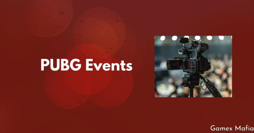 pubg events