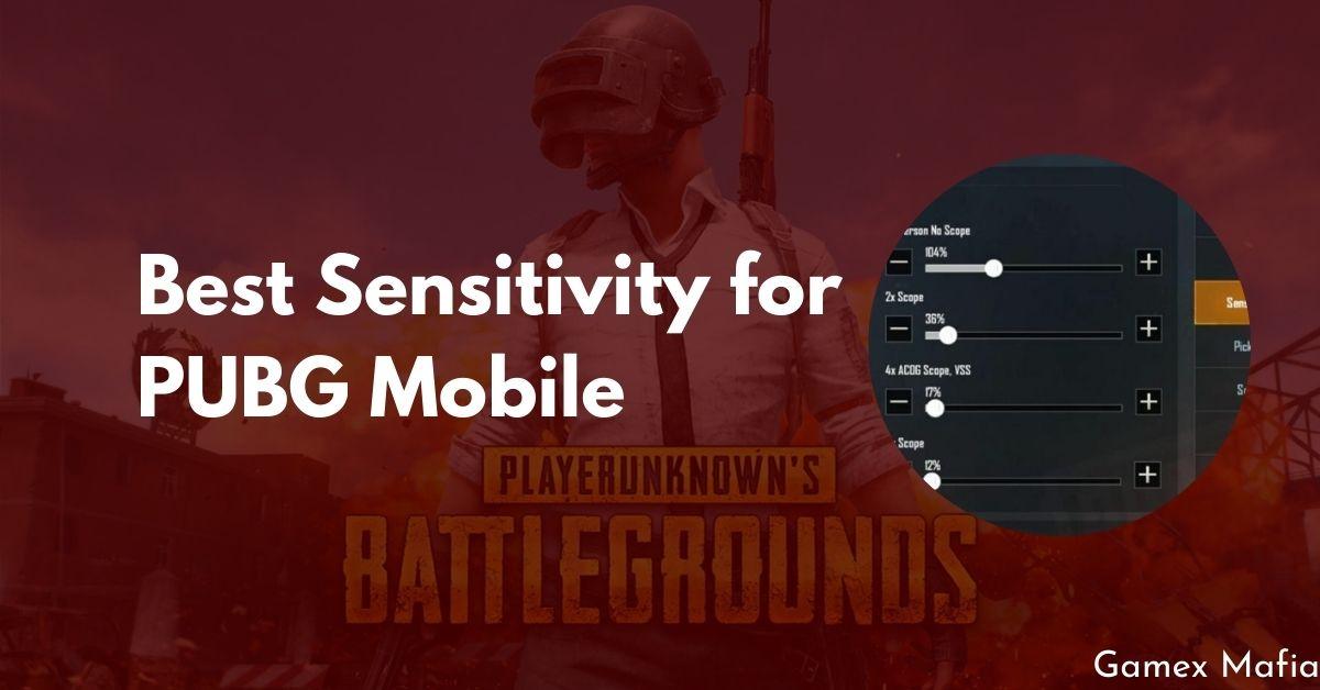 Best Sensitivity for PUBG Mobile