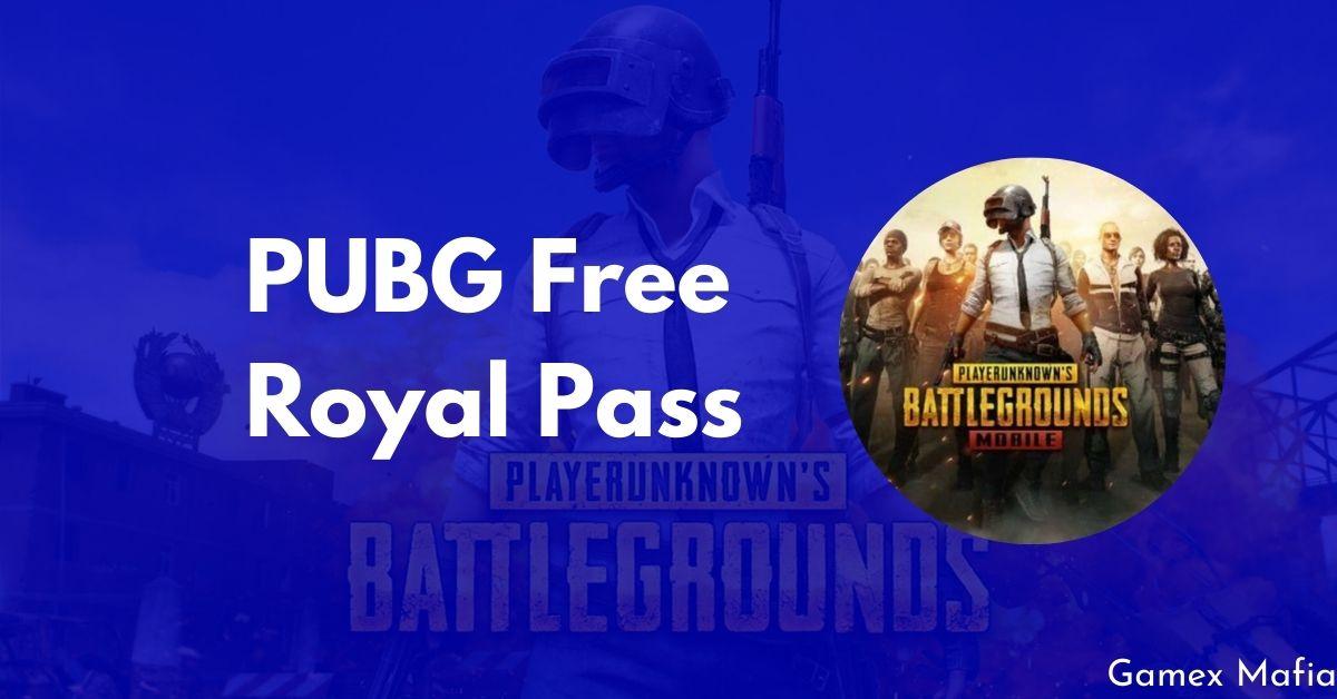 PUBG Free Royal Pass