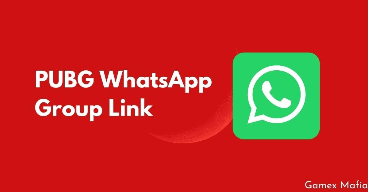PUBG WhatsApp Group Link