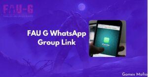 FAU G WhatsApp Group Link