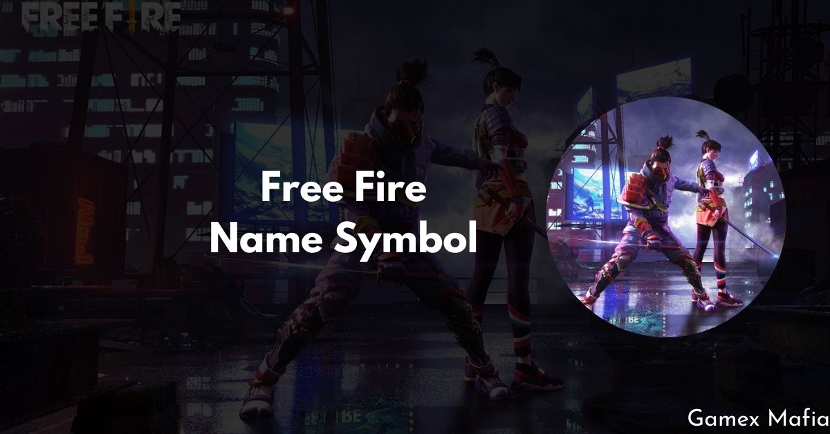 Free Fire Name Symbol