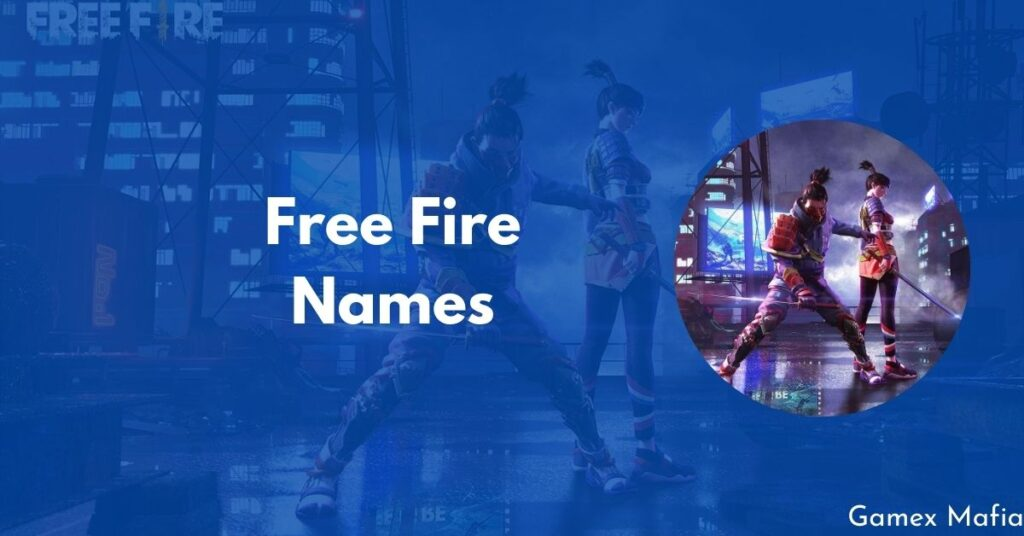 Free Fire Names